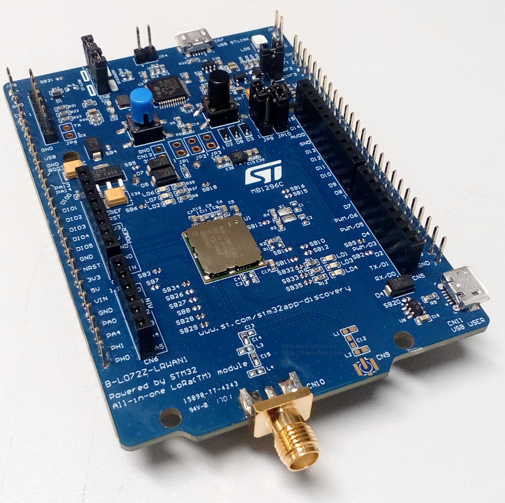 Time4EE   Electronic Engineering - News: Photogallery: STM32L072 and