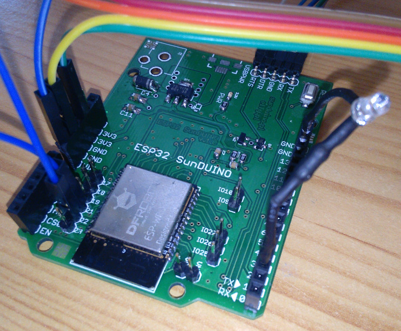 Time4EE | Electronic Engineering - Articles: ESP32, SunDuino and