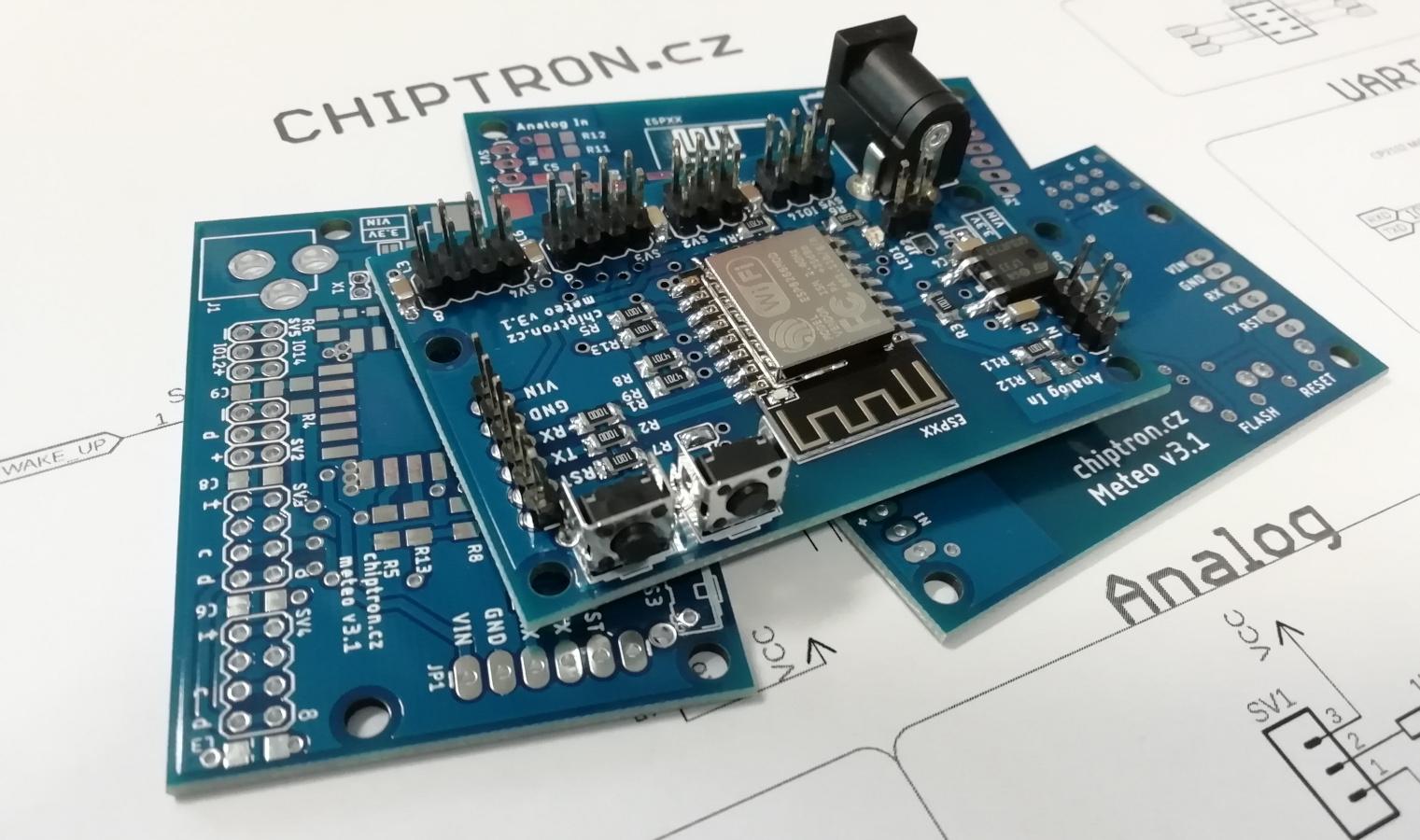 Time4EE | Electronic Engineering - Articles: Meteo v3 - verstatile