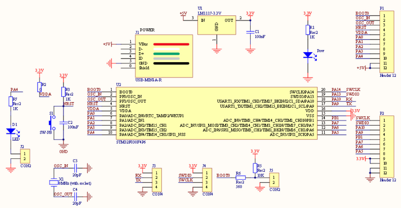 Time4EE | Electronic Engineering - Articles: Development board with